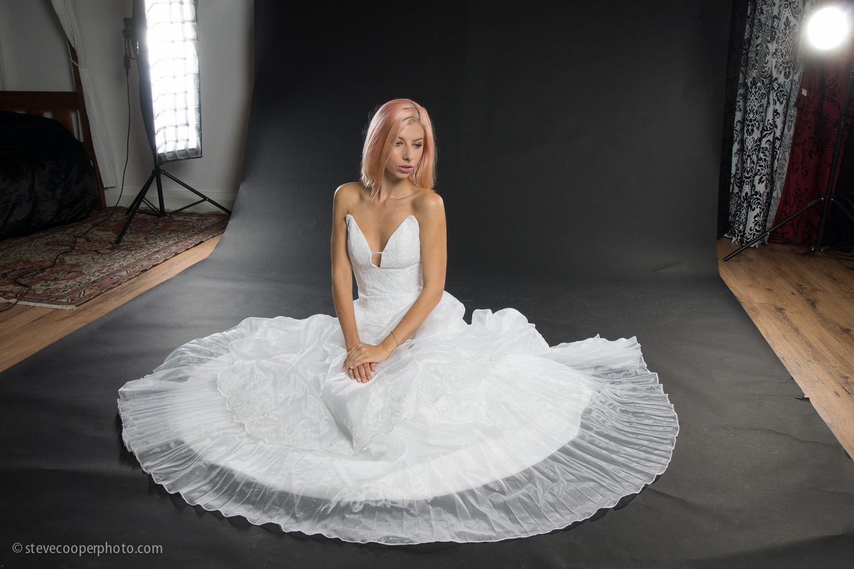 Nicole in dress