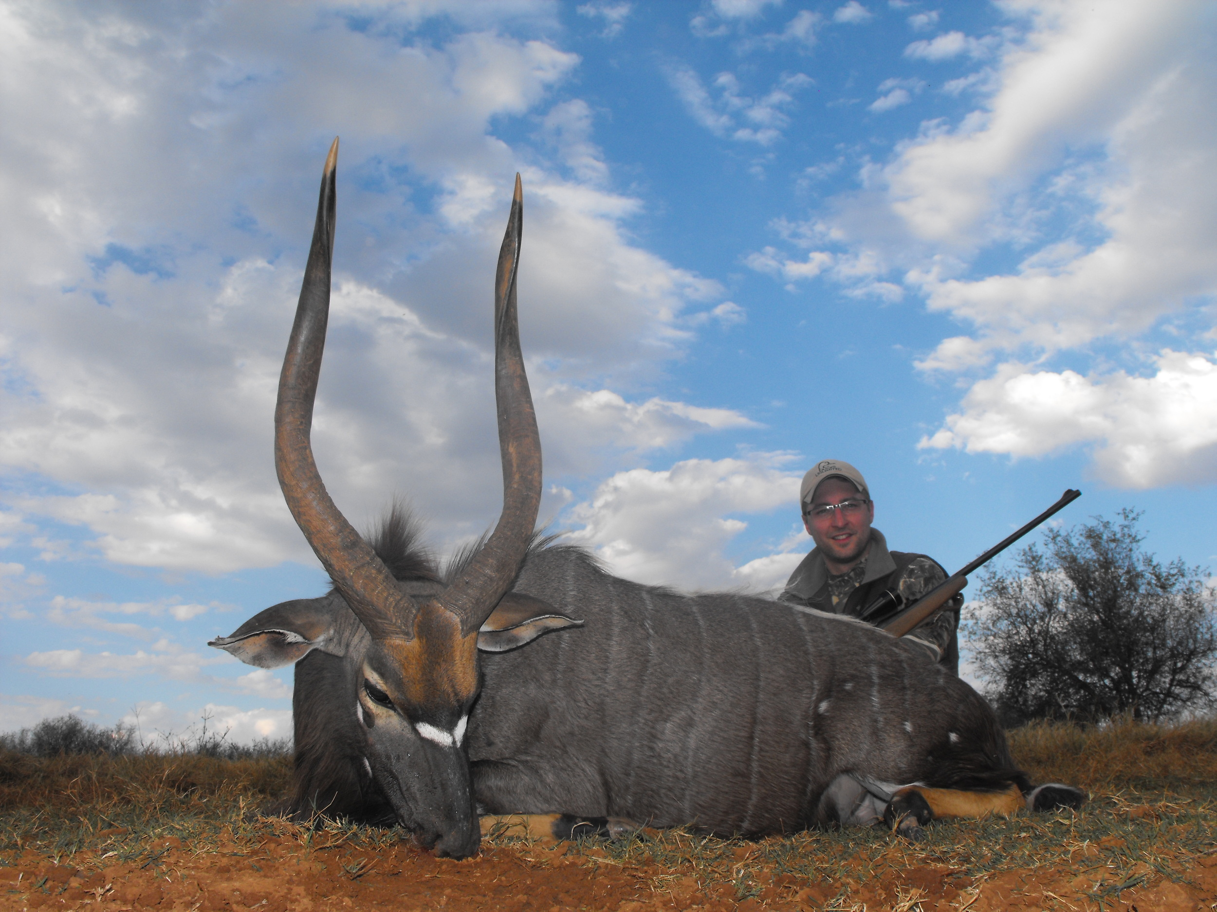 Adrian Skok with another exceptional Nyala