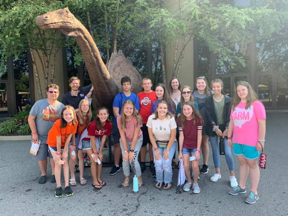 E.O.S Retreat - F&K Youth pictured at the Creation Museum for their End of the Summer Retreat.