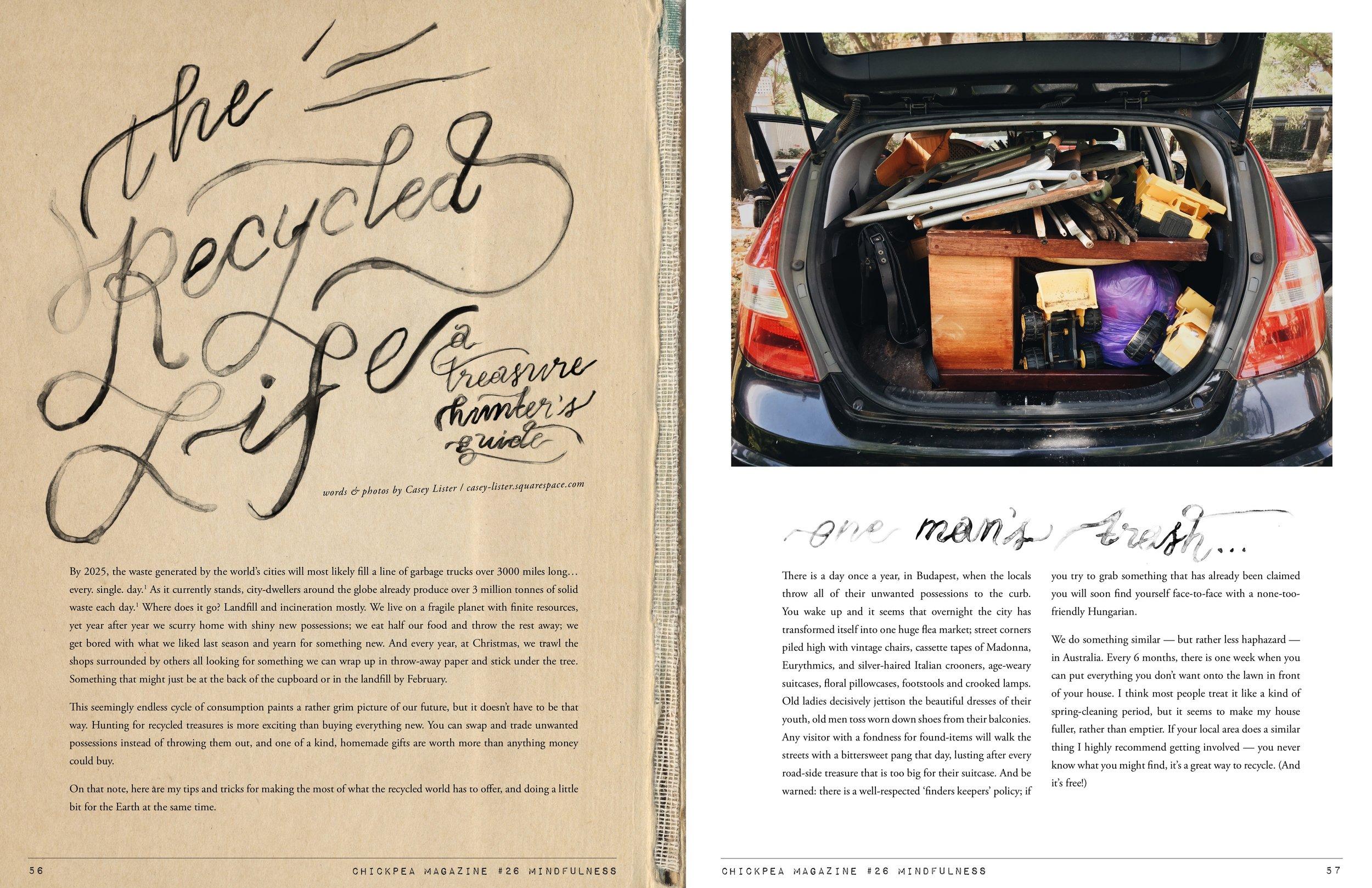 layout design — Serif & Script Co