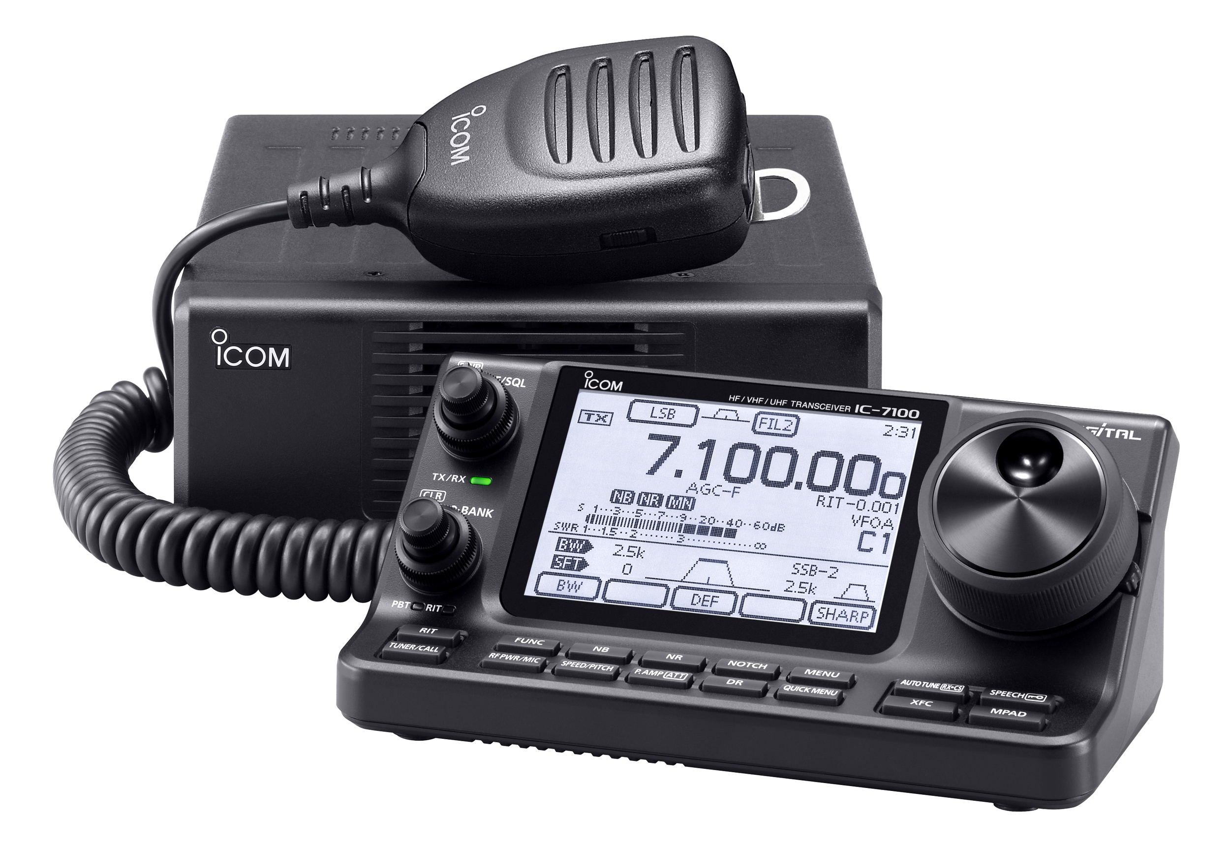 Icom IC-7100... Mobile or Base, a very nice rig