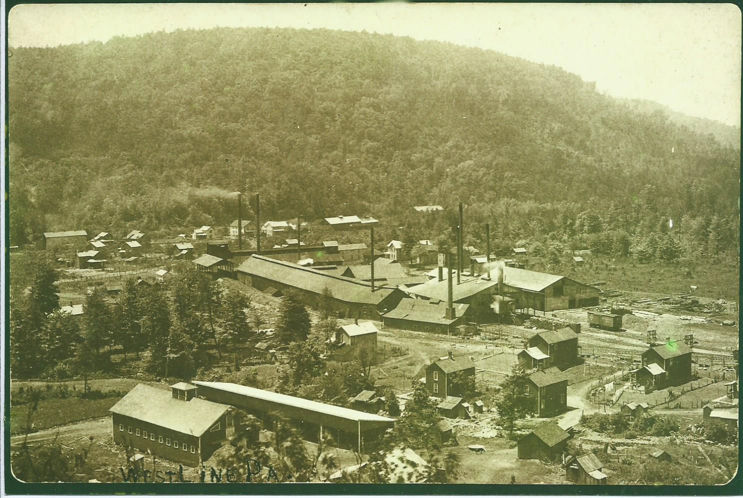 Day Chemical Plant, Westline, Pa., 1900.