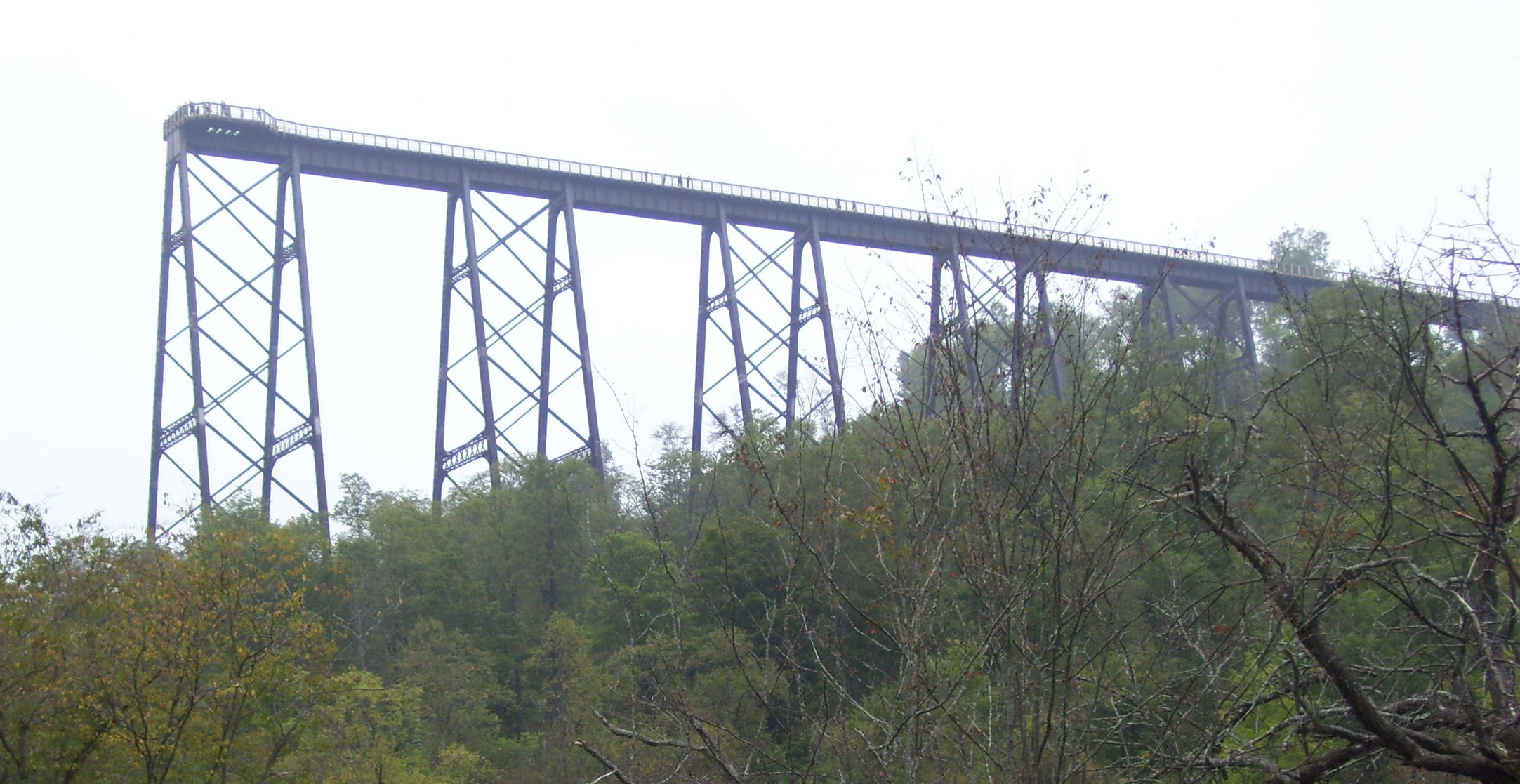Kinzua Valley Trail Club's goal is to reach the Kinzua Bridge State Park - see you there!