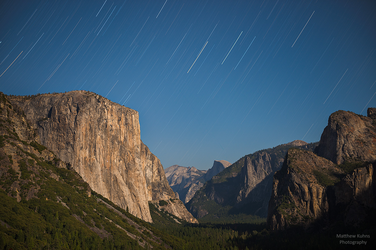 Tunnel View Star Trails