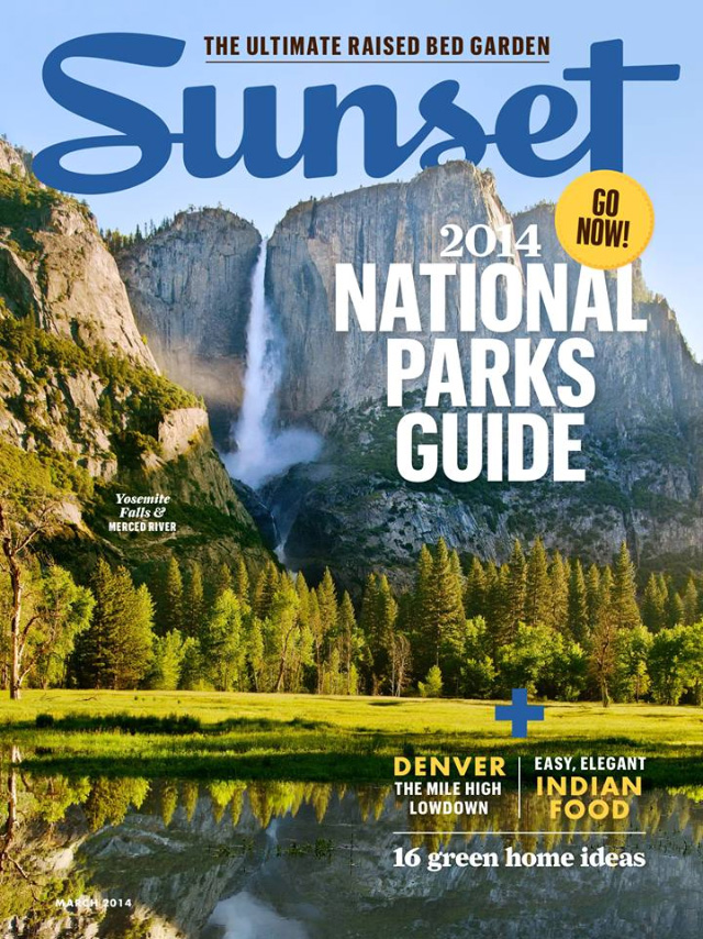 Sunset Magazine, March 2014