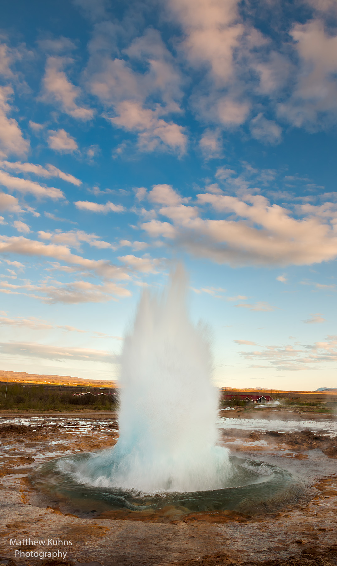 The Strokkur Geysir erupts!