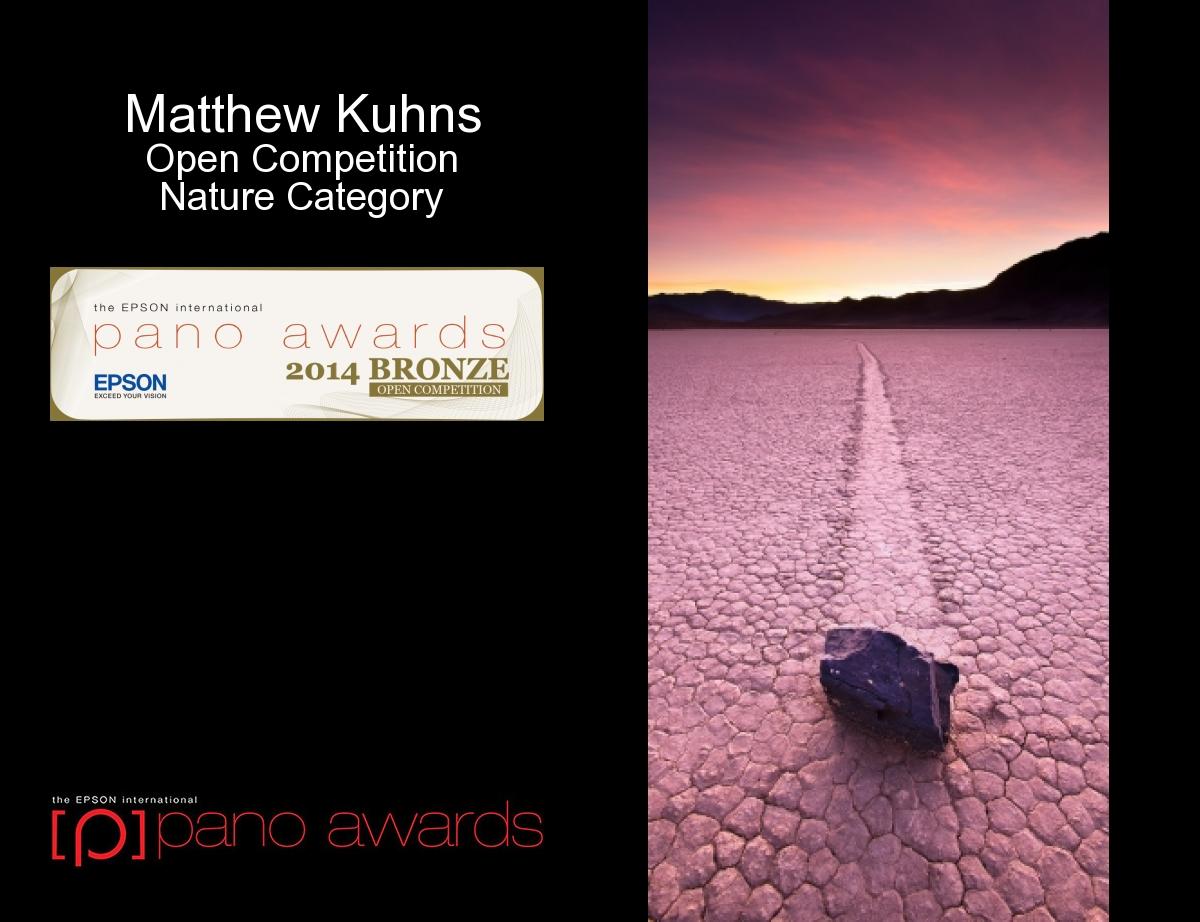 Epson Pano Award