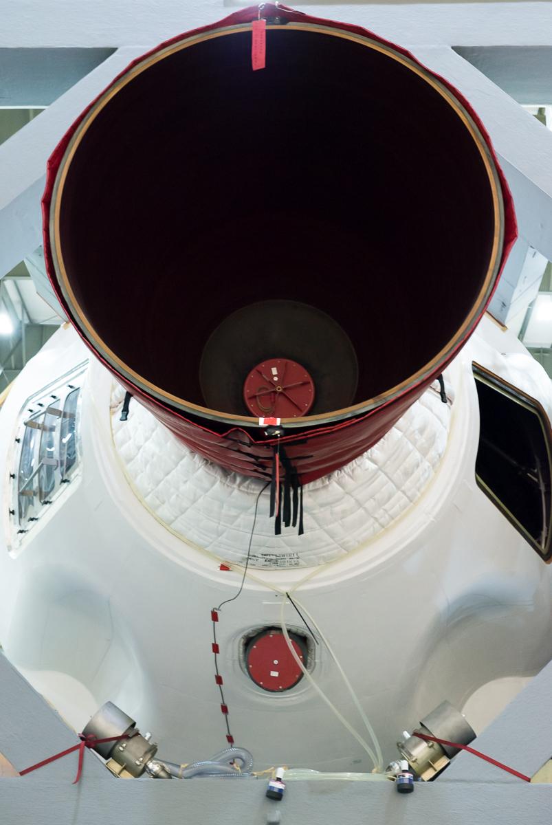 Delta IV Heavy left engine.