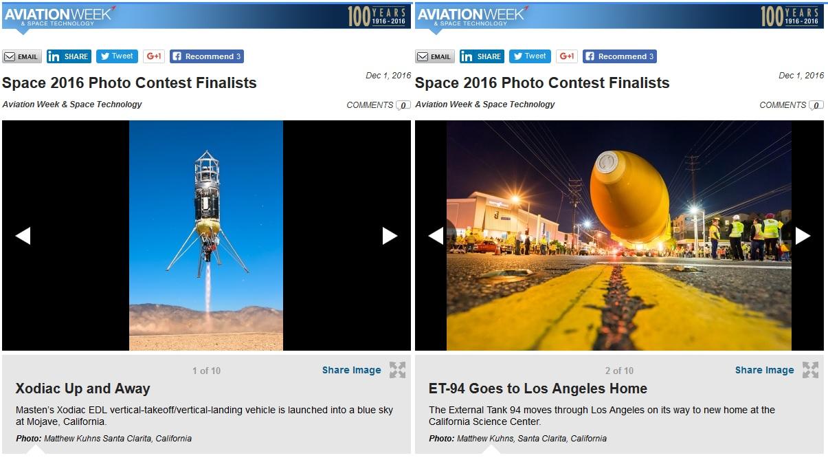 Aviation Week Photo Contest 2016 Finalist