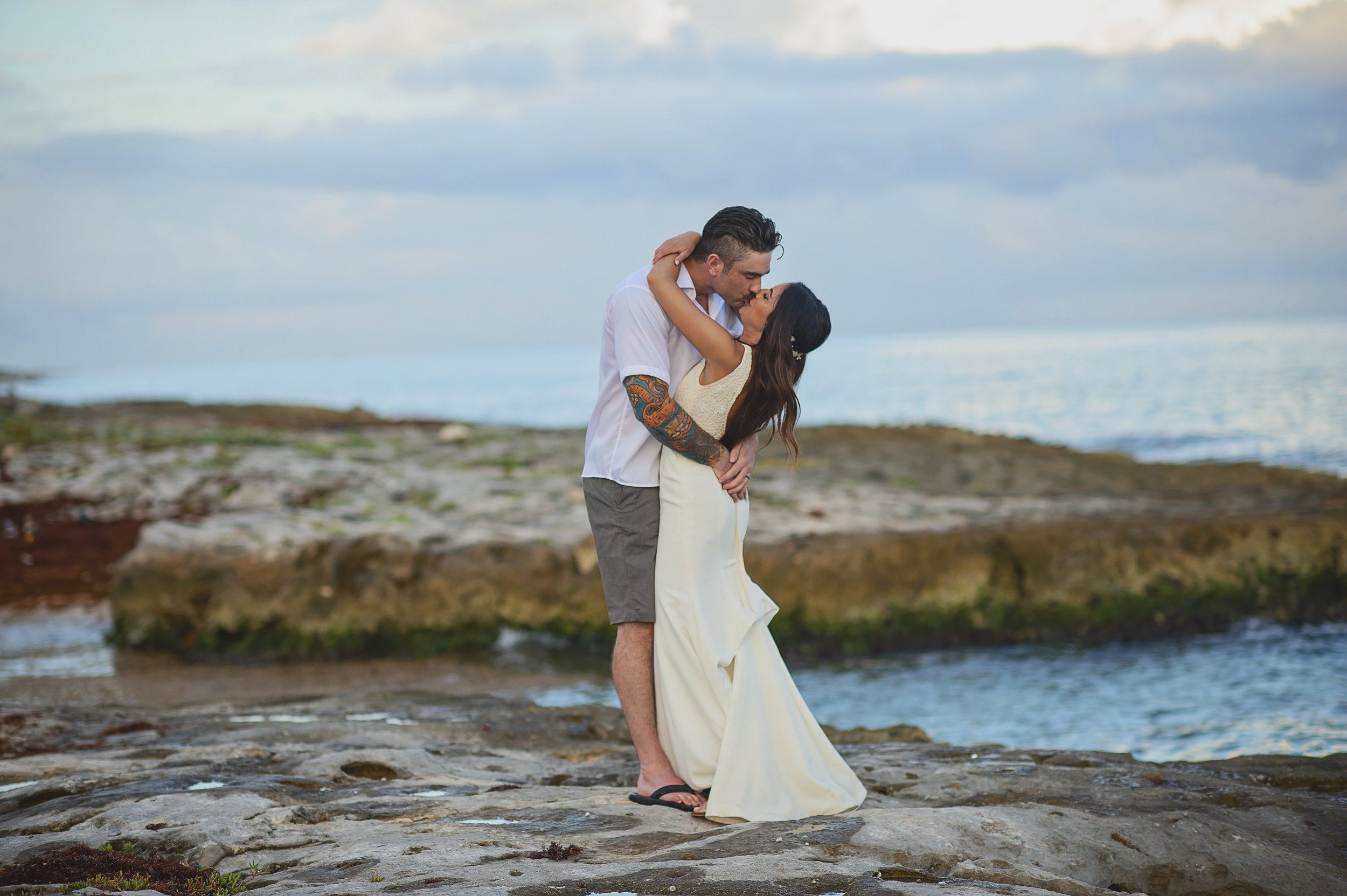 Troy + Kara - Beautiful Mayan Riviera Wedding