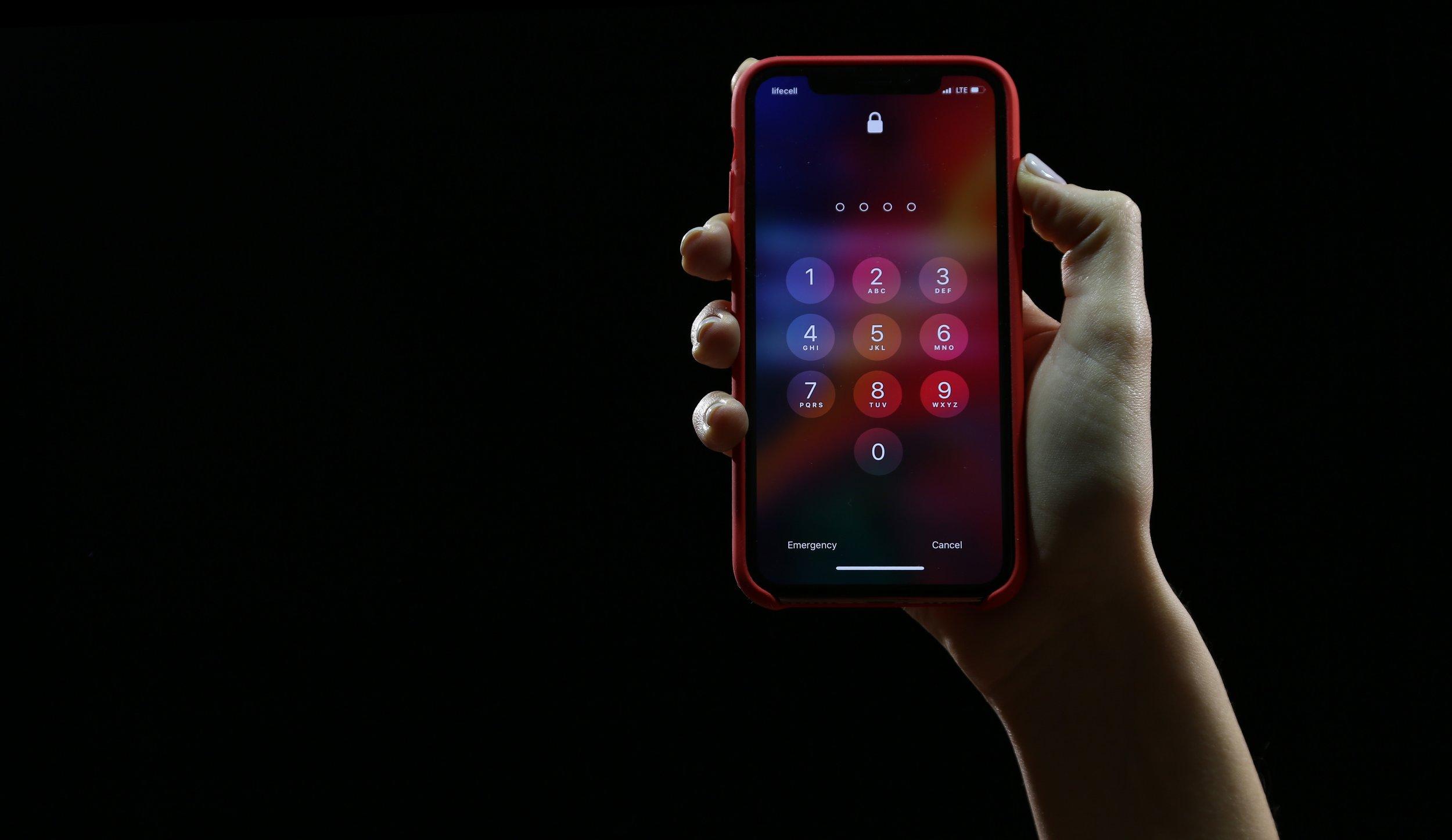 Red iPhone X Case Input Passcode.jpg