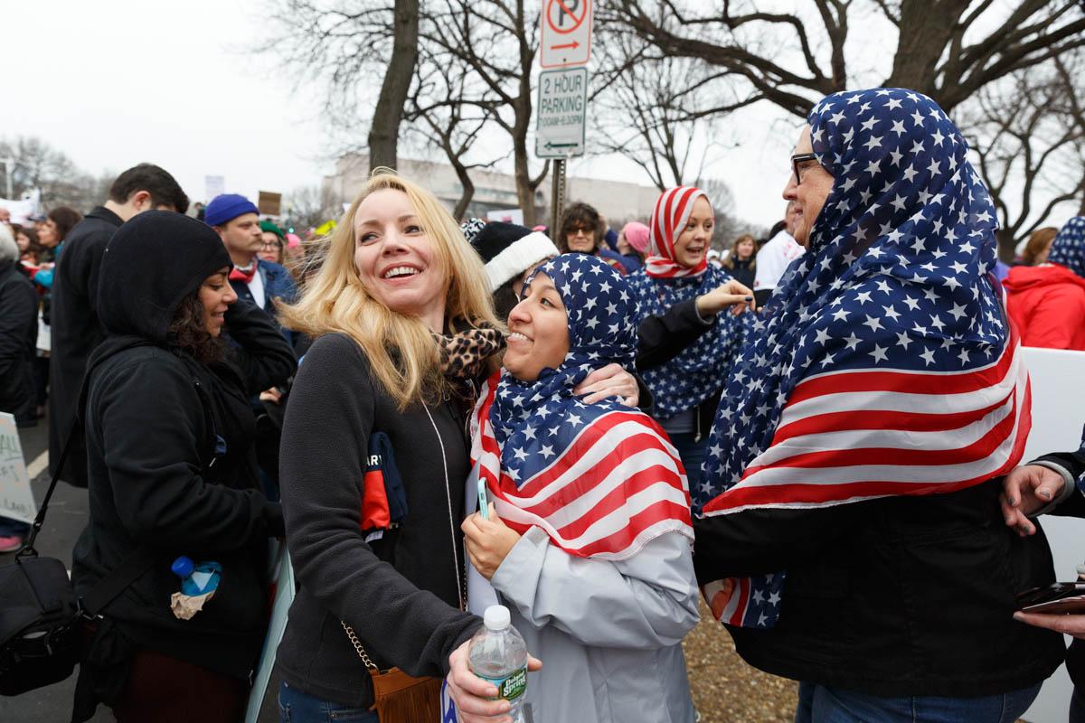 Women's March. Washington D.C. January 2017