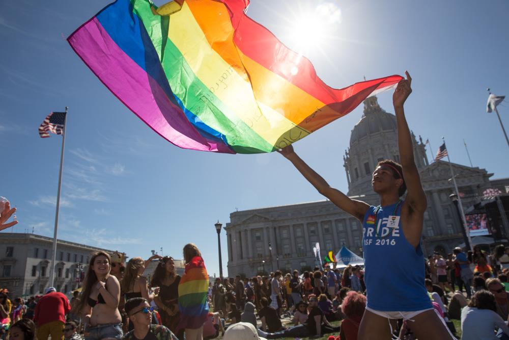 Pride Celebrations. San Francisco. June 2016