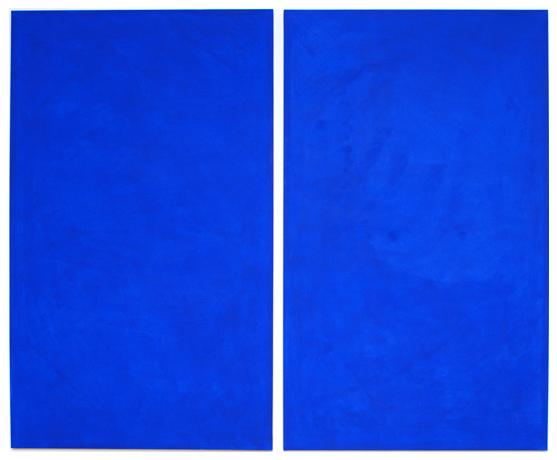 Cobalt Blue Diptych