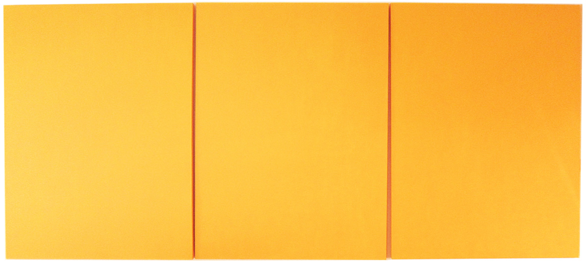 Yellow Triptych
