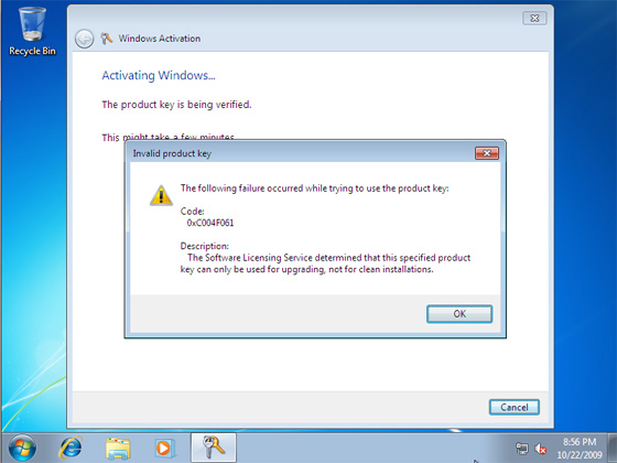 How To Do A Clean Install of Windows 7 using an Upgrade Disc