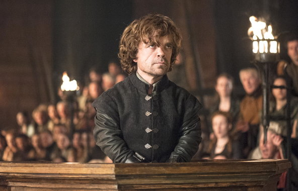Peter Dinklage shines as 'Tyrion Lannister' in The Laws of Gods and Men  image - HBO