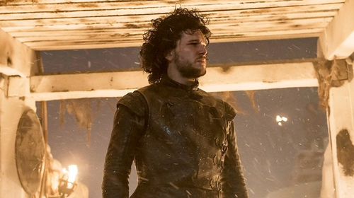 Kit Harington shines as Jon Snow in The Watchers on the Wall  image - HBO