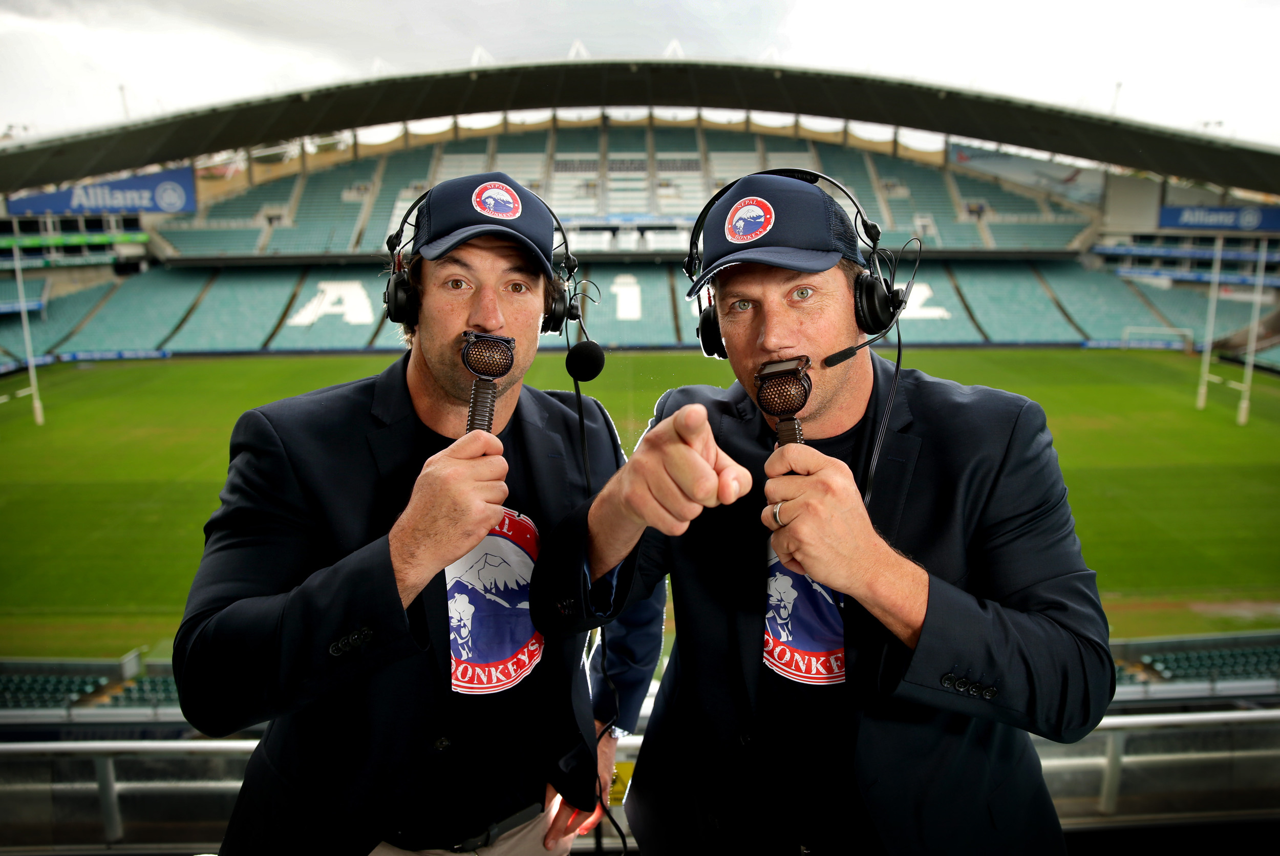 Press Red For Fletch and Hindy  image - supplied