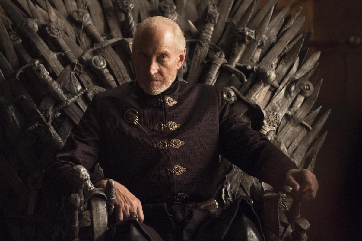 Charles Dance reigns in the role of Tywin in the season final of Game Of Thrones.  image - HBO