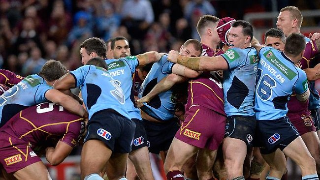 State of Origin once again the biggest TV event of the year.  image source - News Corp