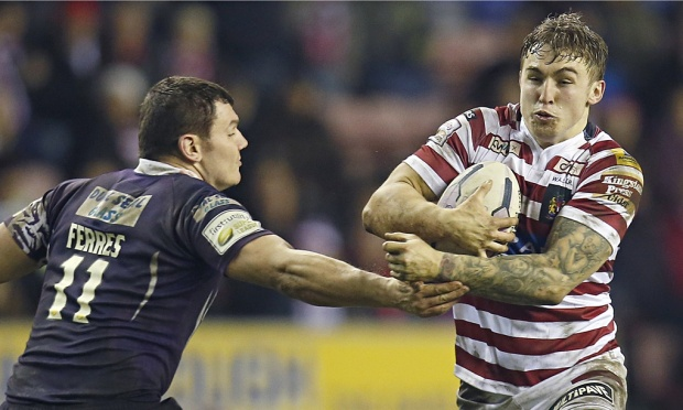 Wigan Warriors v Brisbane Broncos this Sunday on Gem  image copyright: Magi Haroun/REX
