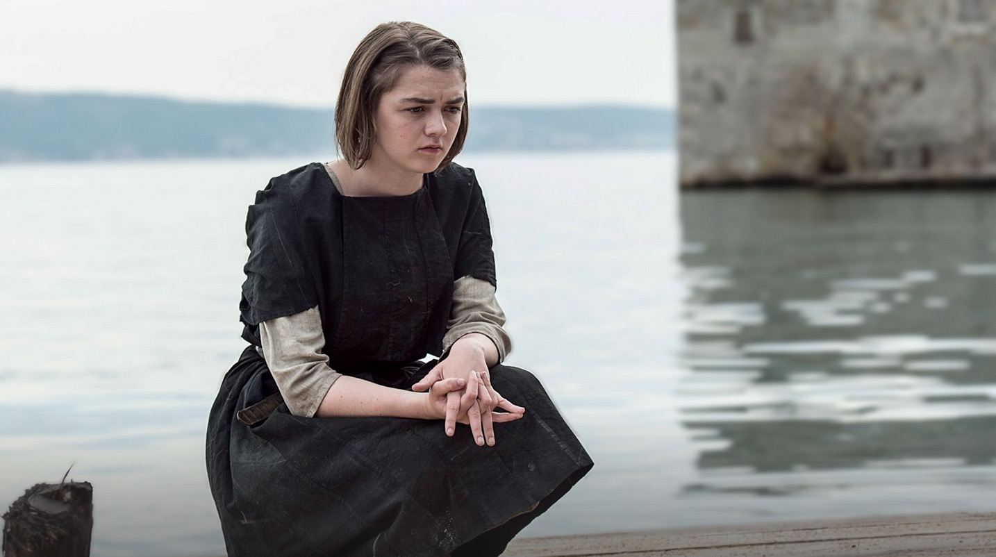 Arya casts away her past for the Faceless Men  image copyright - HBO
