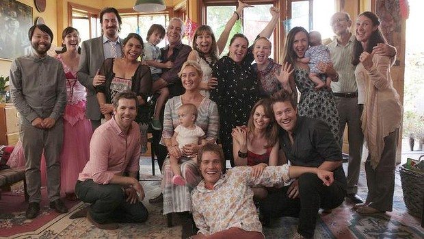 The cast of OFFSPRING (S05 finale 2014)  Image - supplied/Network Ten
