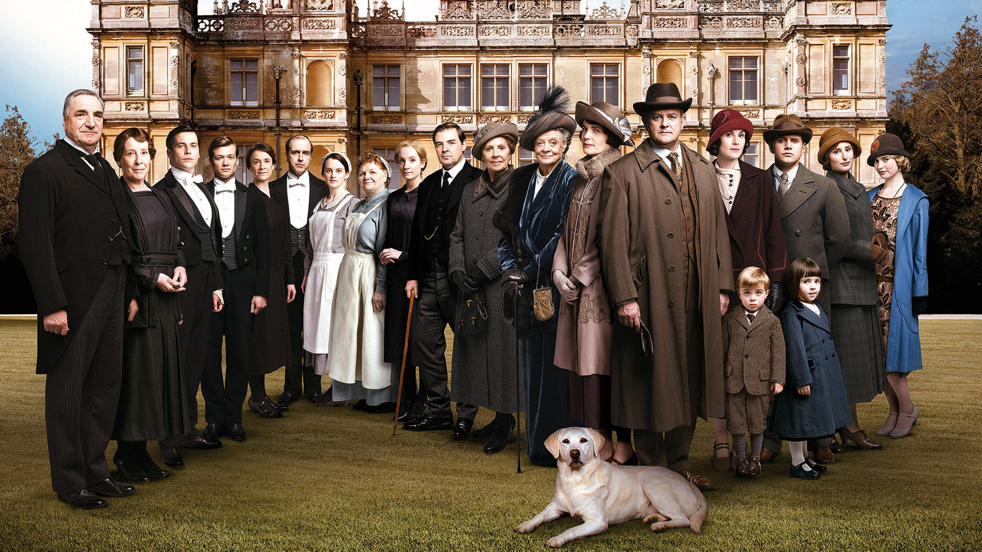 Downton Abbey - After the Tennis, and months after the UK on Seven.  image source - ITV