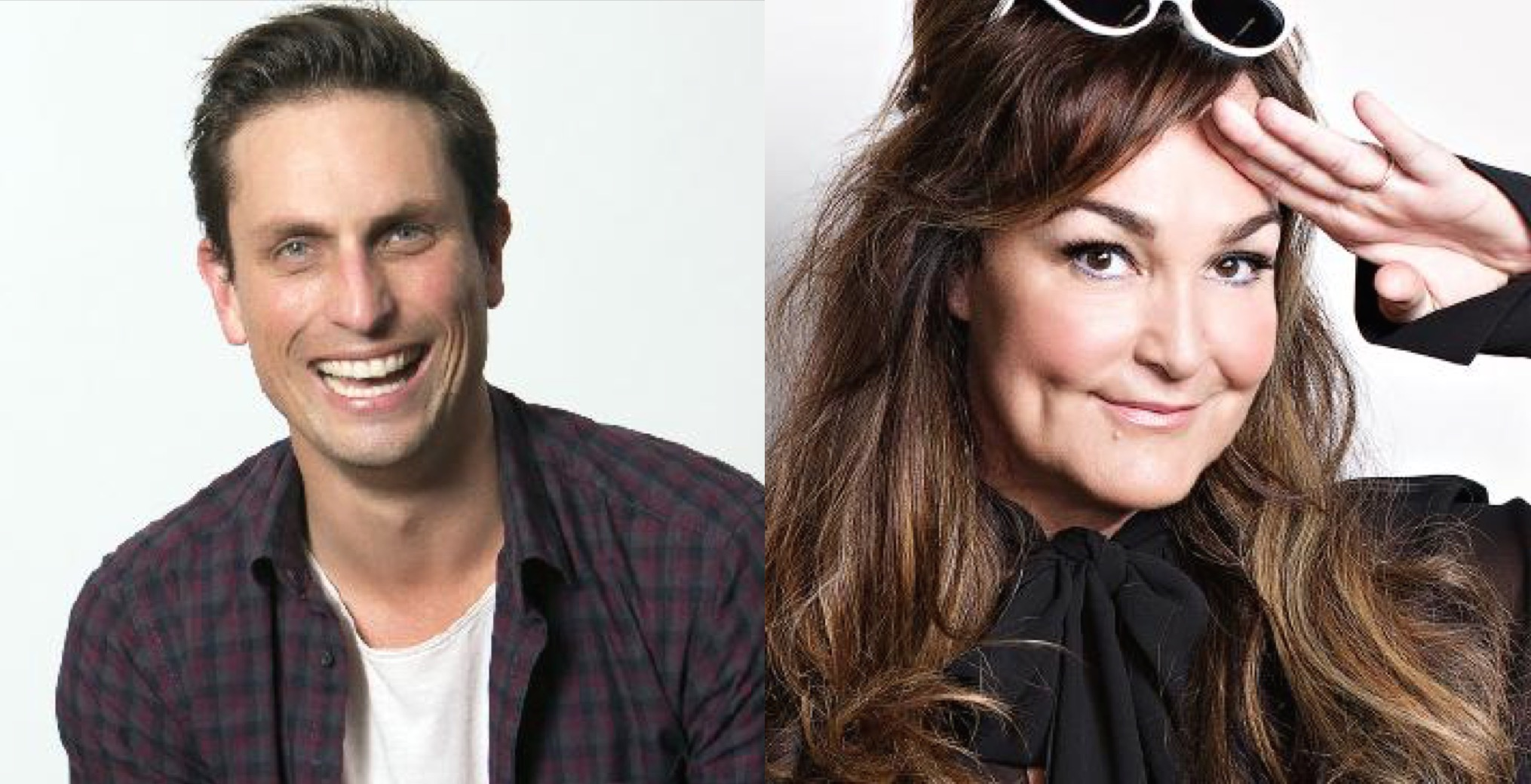 Cam Knight and Kate Langbroek.