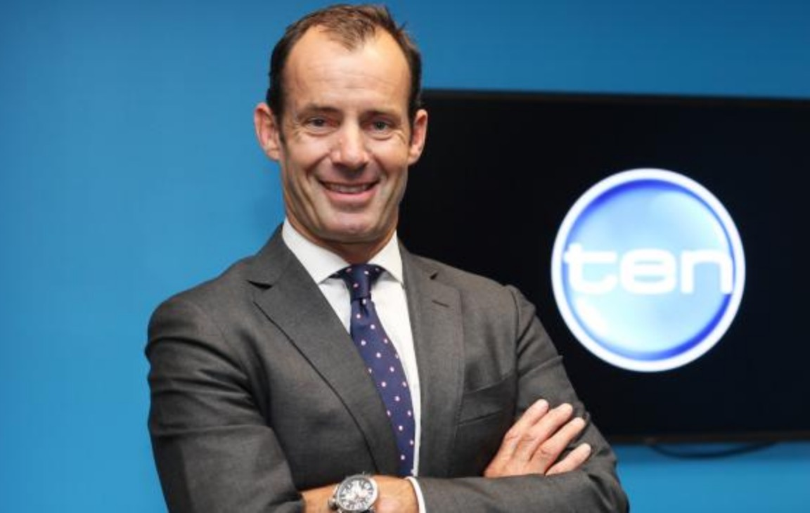 Ten Network Chief Executive Officer, Paul Anderson
