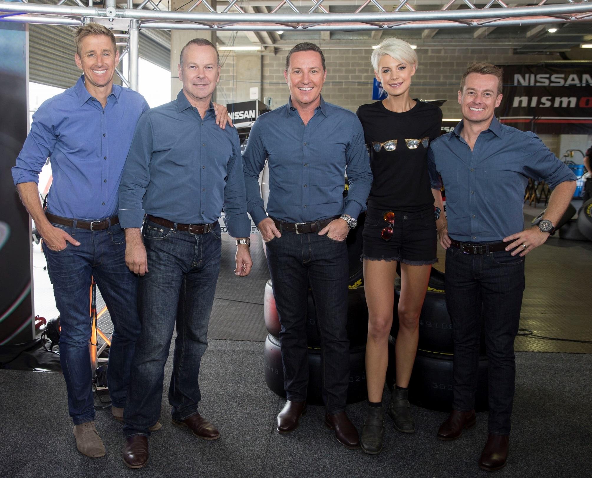 The TEN Motorsport team  image - supplied/TEN
