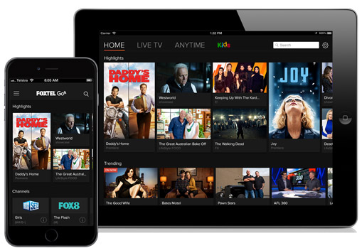 Foxtel Play, Foxtel Anytime and Foxtel Go - Soon available in HD.  image source - Foxtel