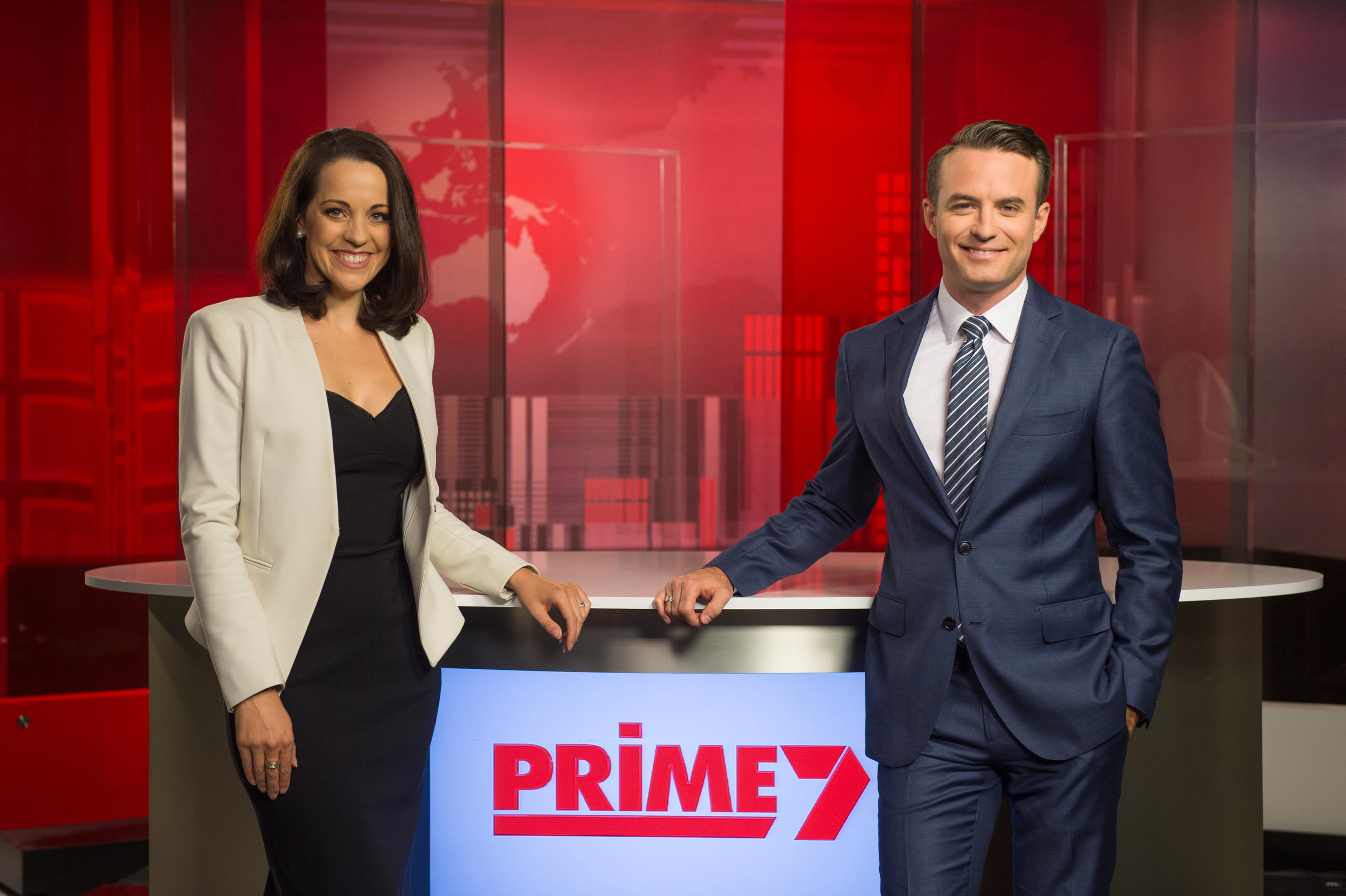 Madelaine Collignon and   Kenny Heatley  images - Prime7