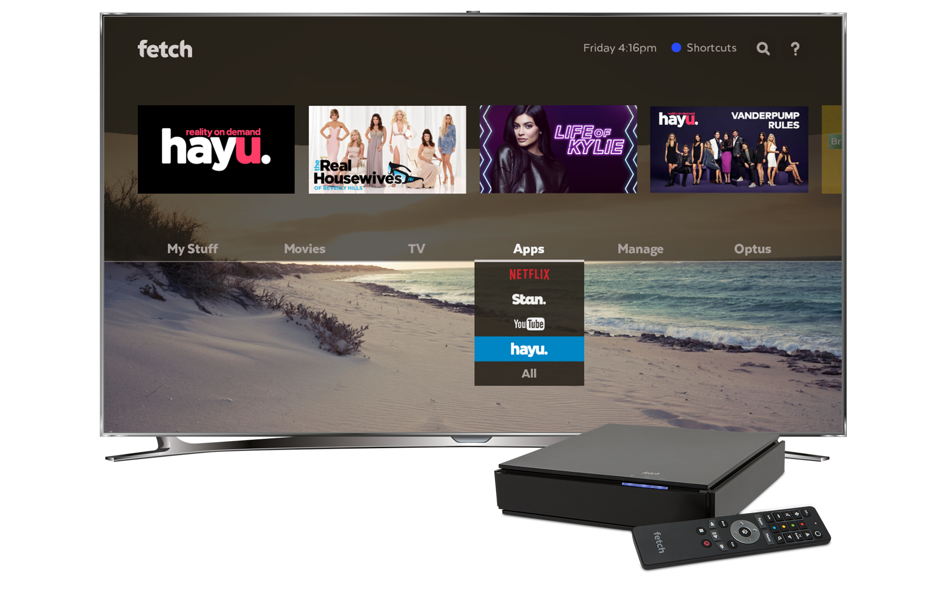 hayu comes to Fetch TV  Image - Fetch