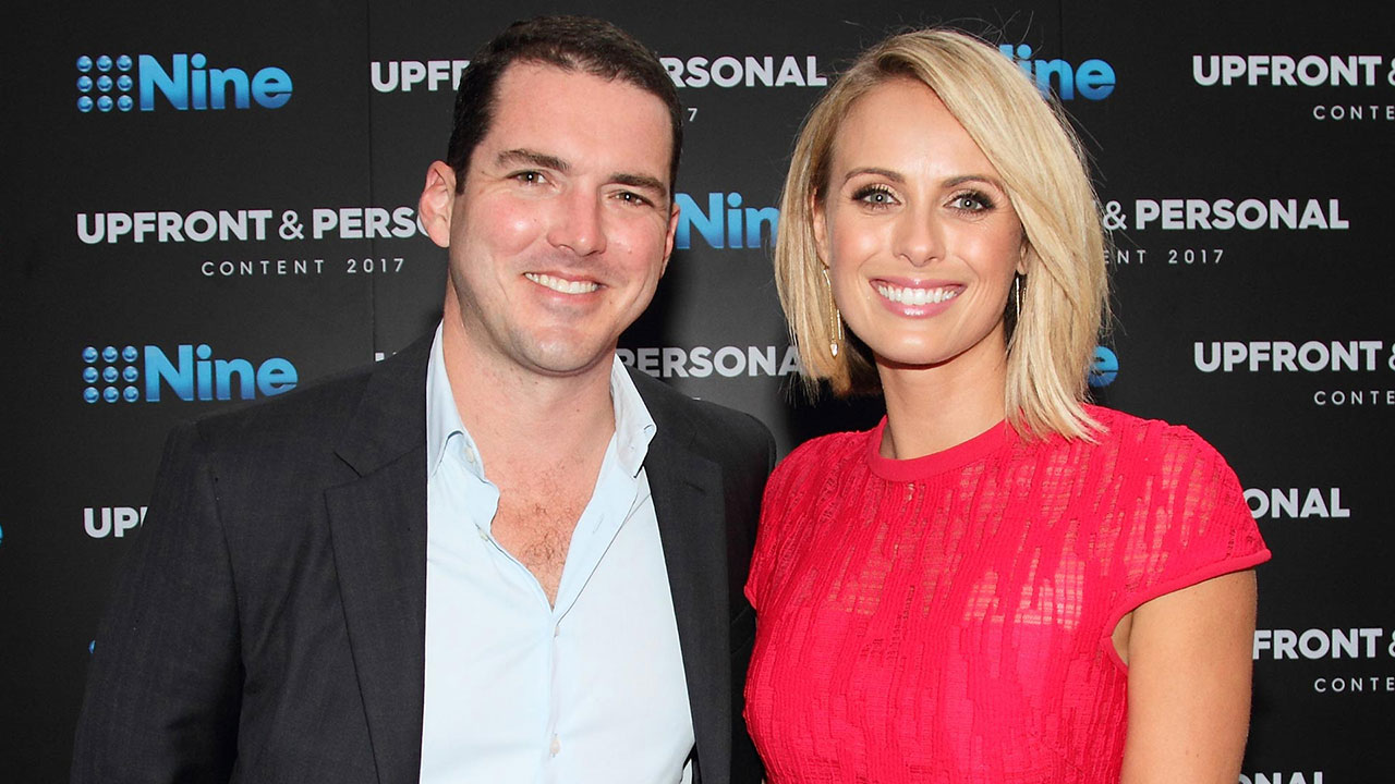 Peter Stefanovic with wife Sylvia Jeffreys