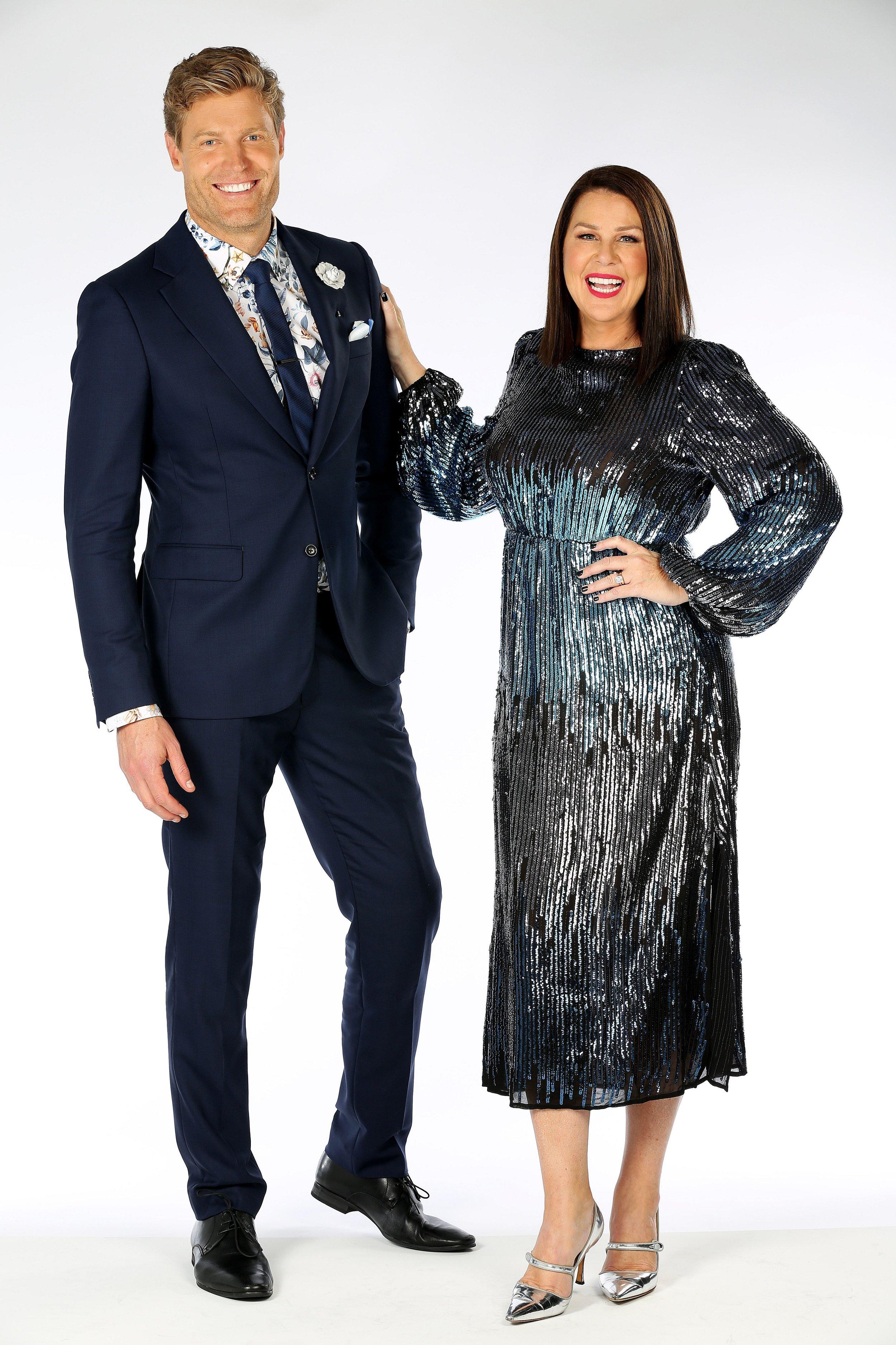 Chris Brown and Julia Morris  image - 10
