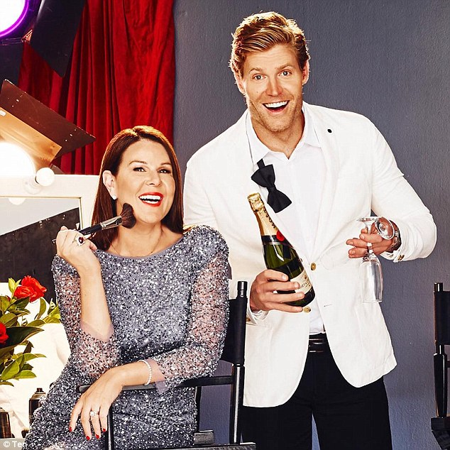 Julia Morris & Chris Brown   PHOTO: Channel 10
