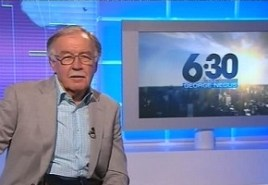 George Negus in 2011  PHOTO: TV Tonight