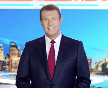 Peter Overton became Nine's lead anchor in 2009 and has been #1 since 2011