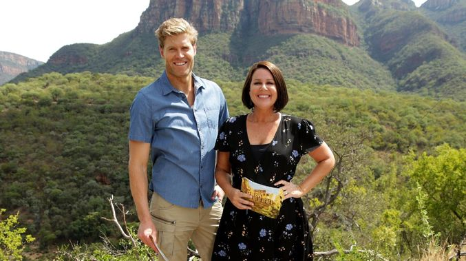 Dr Chris Brown & Julia Morris are heading back to Sydney to prepare for  Sunday Night Takeaway