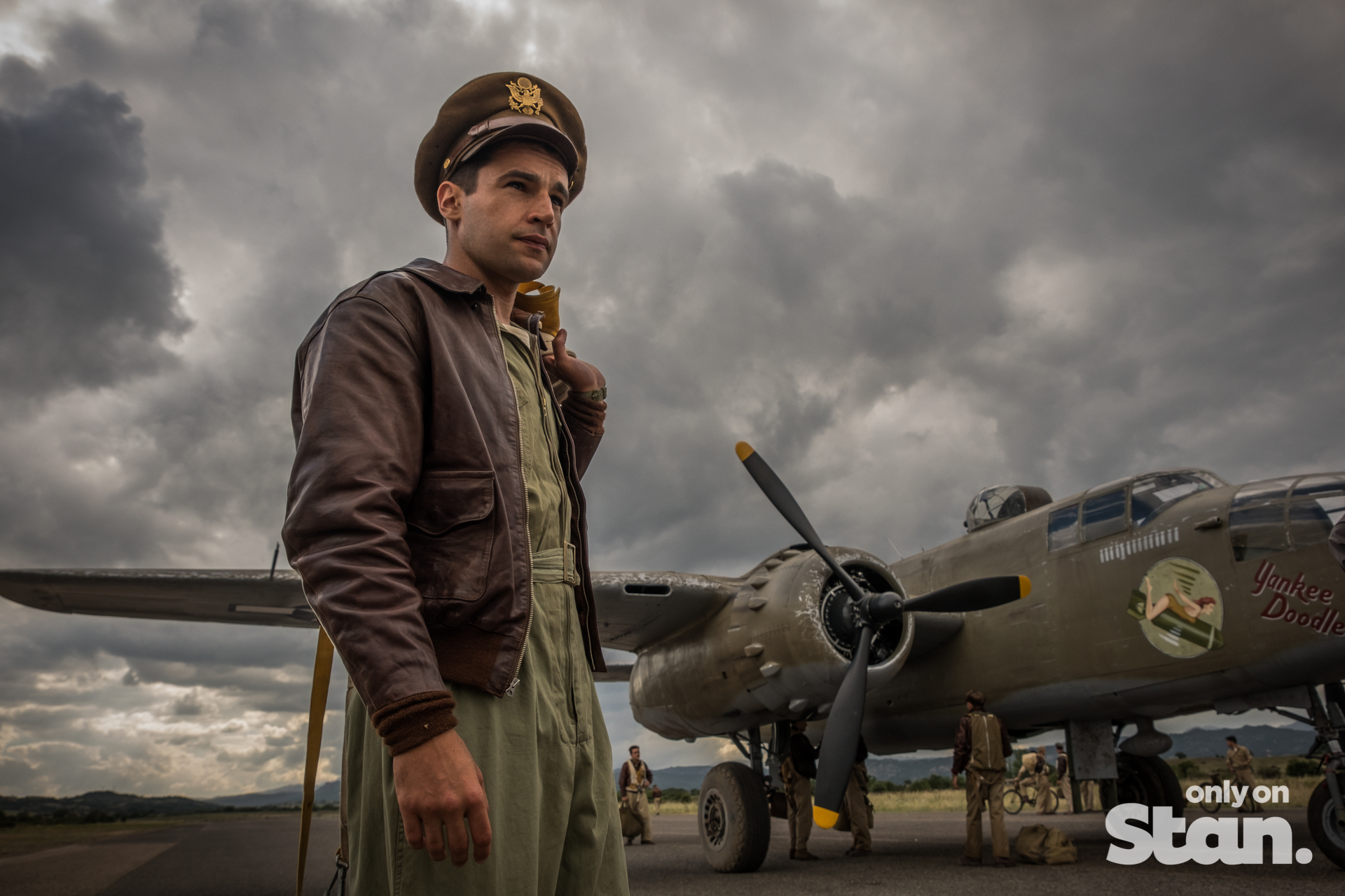 Christopher Abbott in CATCH-22  Image - Stan