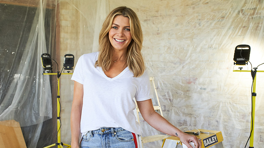 Natalie Bassingthwaighte hosts  Changing Rooms  which launched with a dismal 204,000 viewers   PHOTO: 10