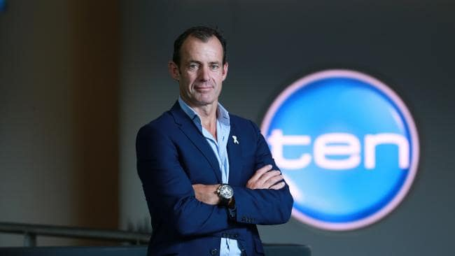 10 CEO Paul Anderson is also under pressure to deliver   PHOTO: The Daily Telegraph