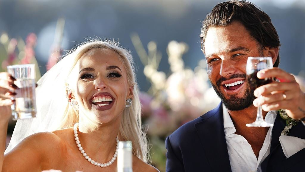 Married At First Sight took the top 4 positions on the ratings chart in week 9   PHOTO: NINE
