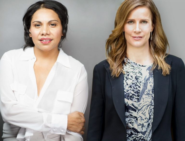 Deborah Mailman and Rachel Griffiths  image - ABC