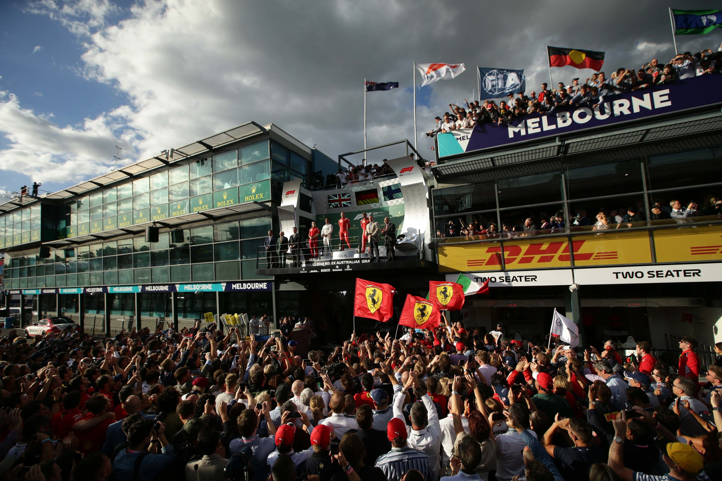 Formula One Action Live and Free This Weekend On 10 — Australian