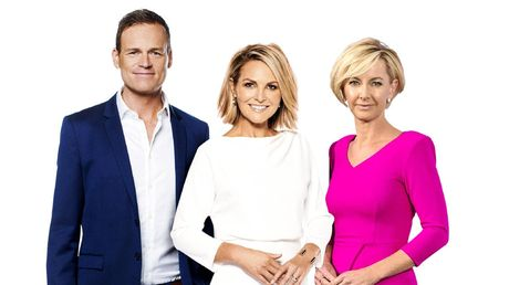Tom Steinfort, Georgie Gardner & Deb Knight host the TODAY show, which continues to struggle   PHOTO: Nine