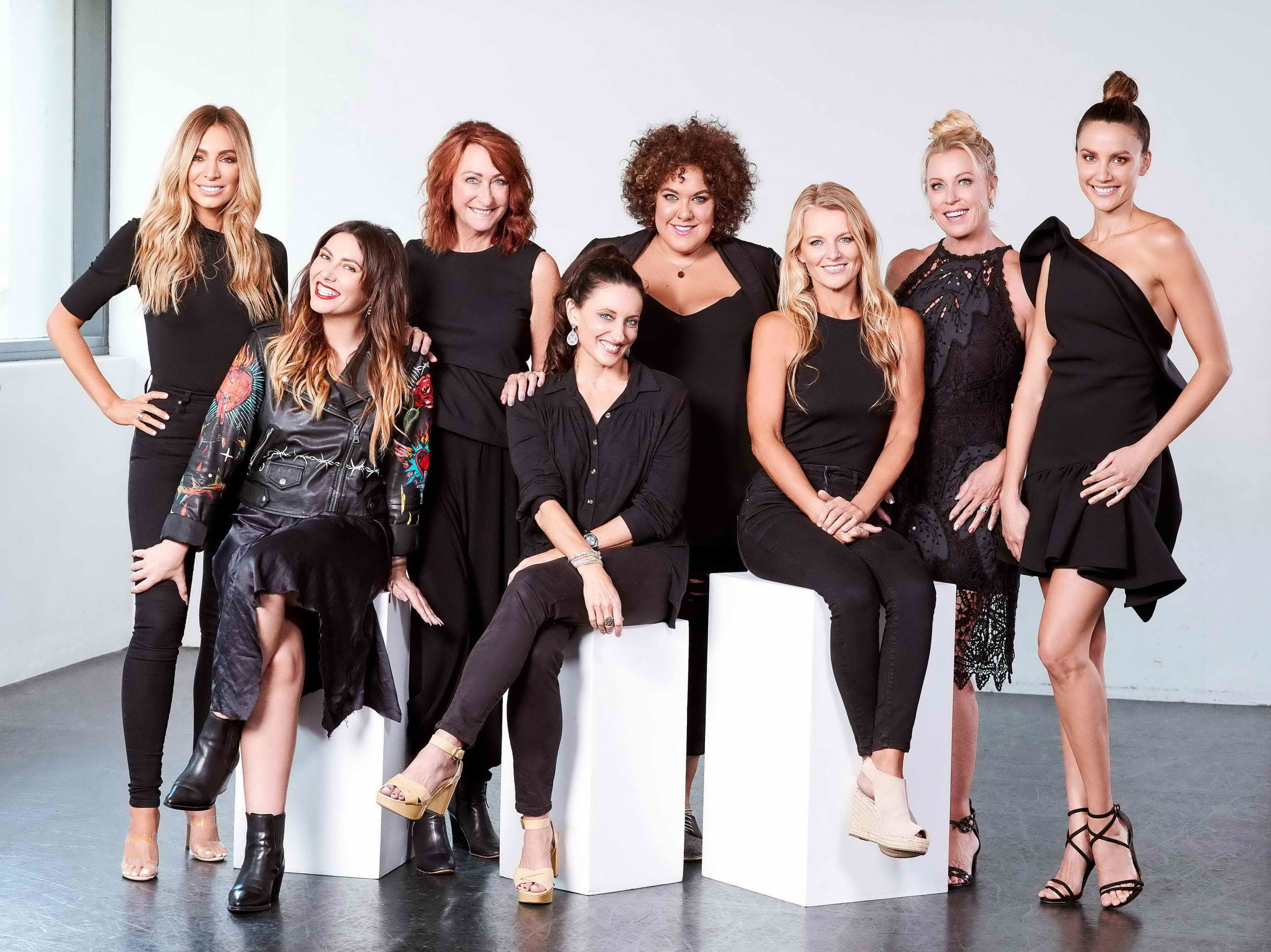 The cast for LADIES' NIGHT  Image - Seven