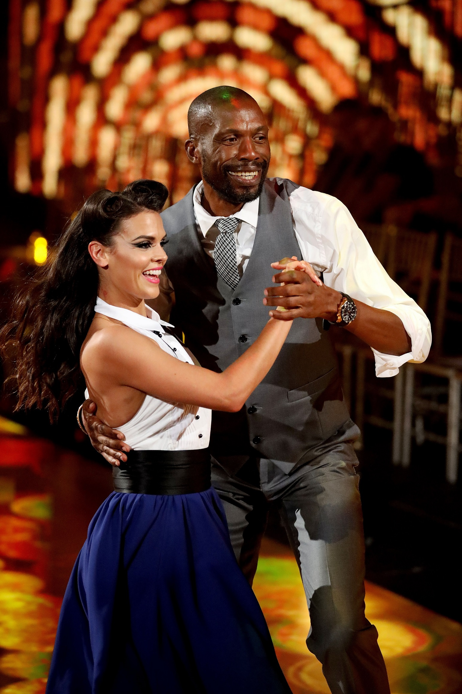 Curtly Ambrose is out for a duck on DANCING WITH THE STARS